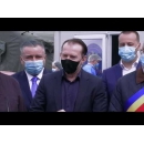 Declarații susținute de premierul Florin Cîțu după vizitarea Centrului de vaccinare drive-through de la Shopping City Suceava